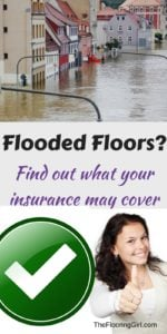 flooded floors - what insurance may cover