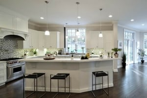 Hardwood flooring for kitchens