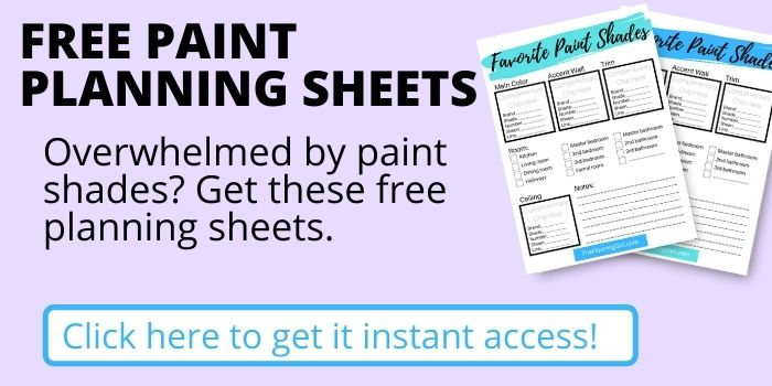 Free paint planning printables