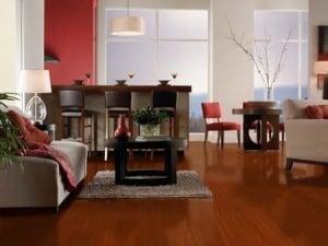laminate floating floor brazilian cherry