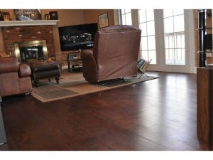Dark hardwood flooring royal mahogany White Plains New York
