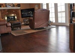 Dark hardwood flooring royal mahogany westchester NY