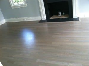 Refinish hardwood floors gray in westchester county
