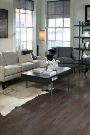 13 Amazing Gray hardwood wood floors -charcoal