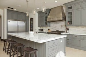 Best paint colors for kitchen cabinets - gray cabinets