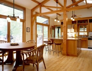 Westchester NY kitchenOak hardwood flooring