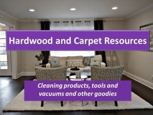 Hardwood and Carpet Cleaners