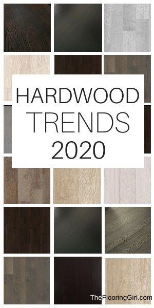 styles and trends in hardwood floors for 2020