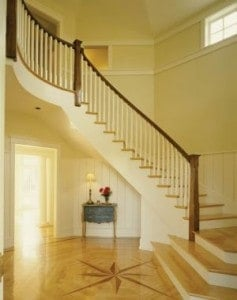warner robins hardwood flooring entryway
