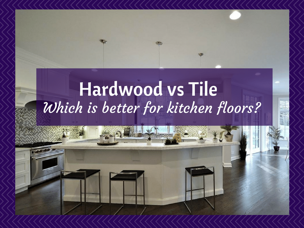 Kitchen floors is hardwood flooring or tile better hardwood vs tile which is better for kitchen dailygadgetfo Choice Image