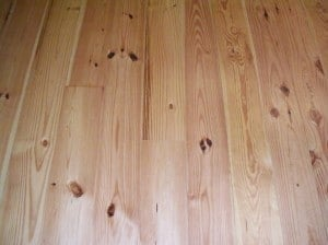 heart pine floor refinishing