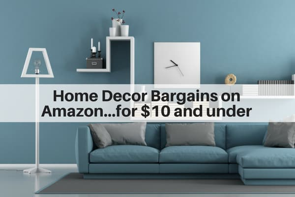 Home Decor Bargains On Amazon For 10 Or Less The Flooring Girl