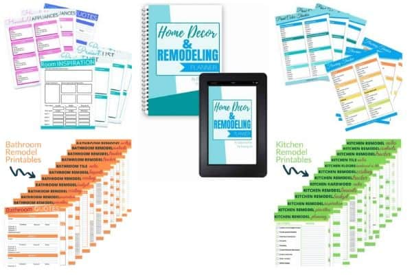 Home decor and remodel printables