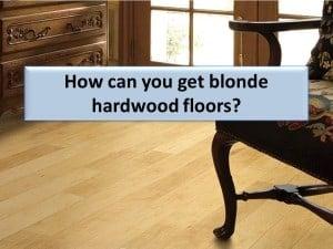blonde hardwood floors - maple