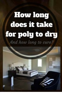 How long does it take for poly to dry and cure