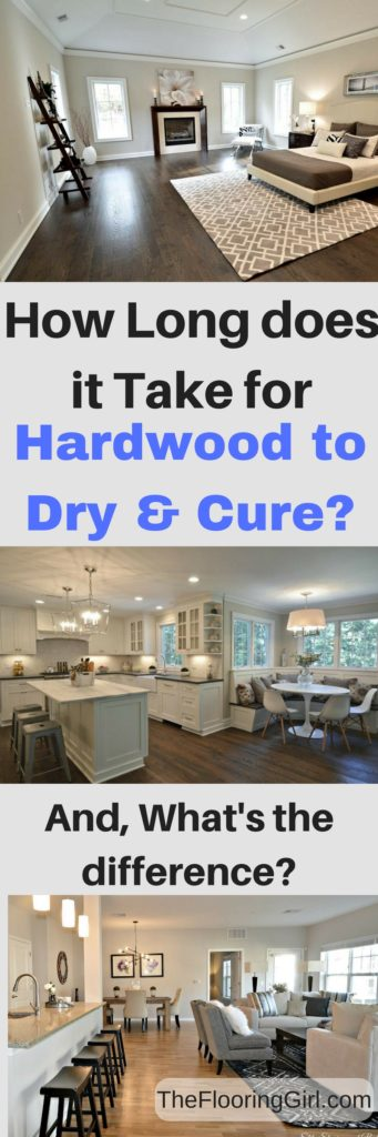 How long does it take polyurethane to cure and dry. what's the difference?