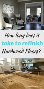 how long does it take to refinish hardwood floors