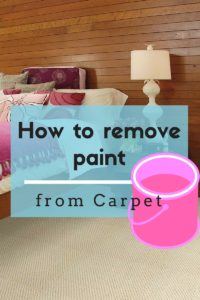 How To Remove Paint From Carpet The Flooring Girl