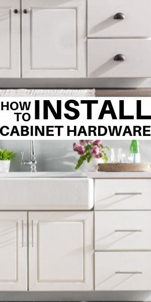 How to Install Kitchen Cabinet Hardware | The Flooring Girl