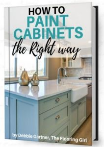 How to paint kitchen cabinets the right way ebook