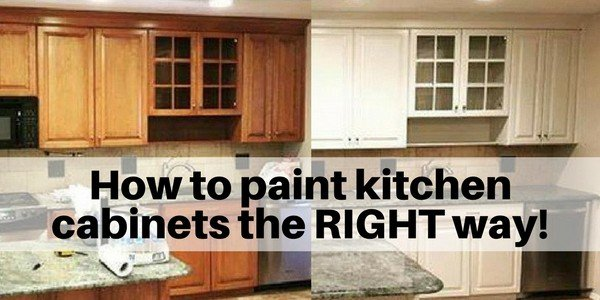 How To Paint Cabinets The Right Way Flooring