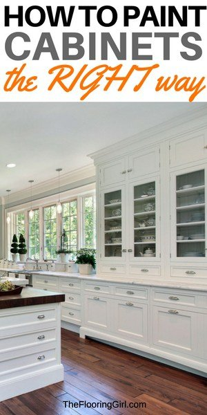 How To Paint Cabinets The Right Way   DIY Cabinet Painting