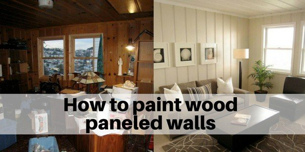 How to paint wood paneled Walls | Westchester County NY