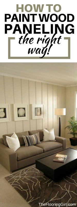 How To Paint Wood Paneled Walls And Shiplap The Flooring