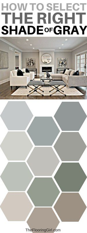 best gray shades of paint - the most popular ones