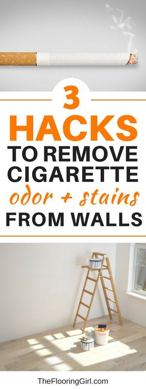 How To Remove Cigarette Smell And Stains From Walls The