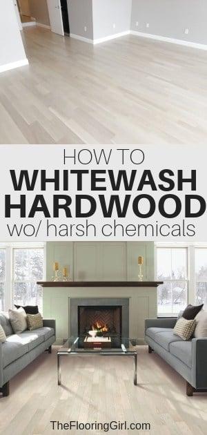 Bona NordicSeal - How to whitewash hardwood floors without harsh chemicals