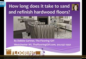 Hardwood Floor Refinishing – FAQ's – Video blogs