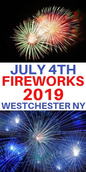 July 4th fireworks 2017 in Westchester County and Kensico Dam