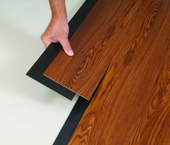 Floating vinyl floor westchester ny the flooring girl for Rubber laminate flooring