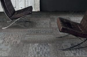 Carpet tiles are easy to install. They are a great DIY Project