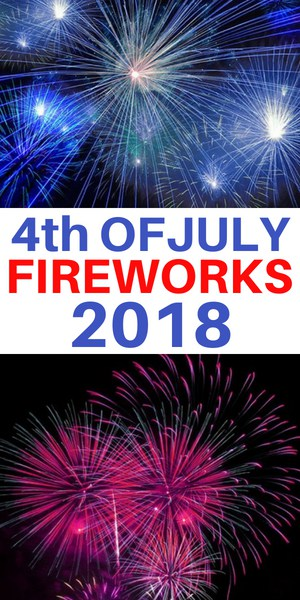 July 4th fireworks at Kensico Dam and Westchester County NY 2018