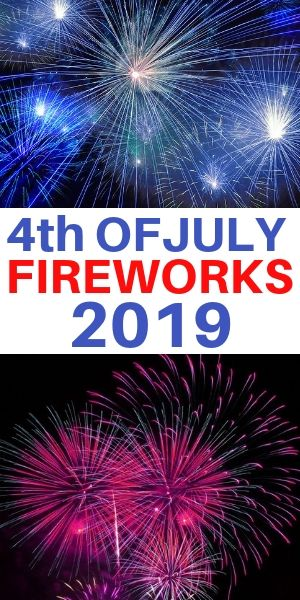 July 4th fireworks at Kensico Dam and Westchester County NY 2019