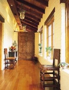 Kempas hardwood - amber exotic hardwood
