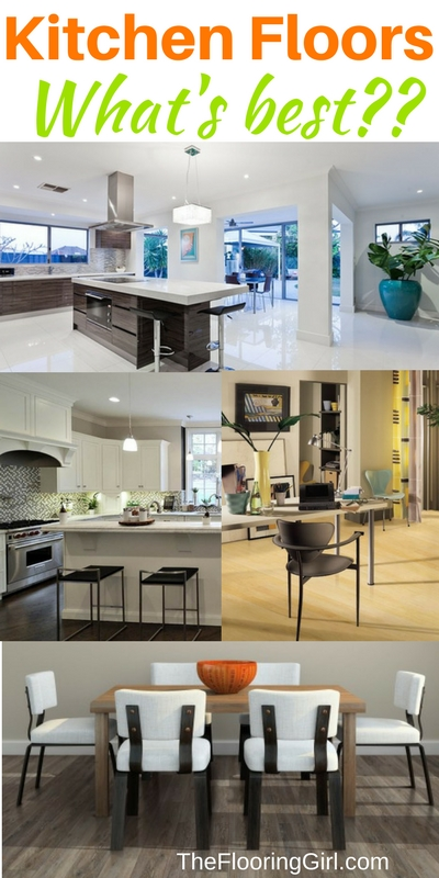 Kitchen floors: what is the Best Floor for a kitchen