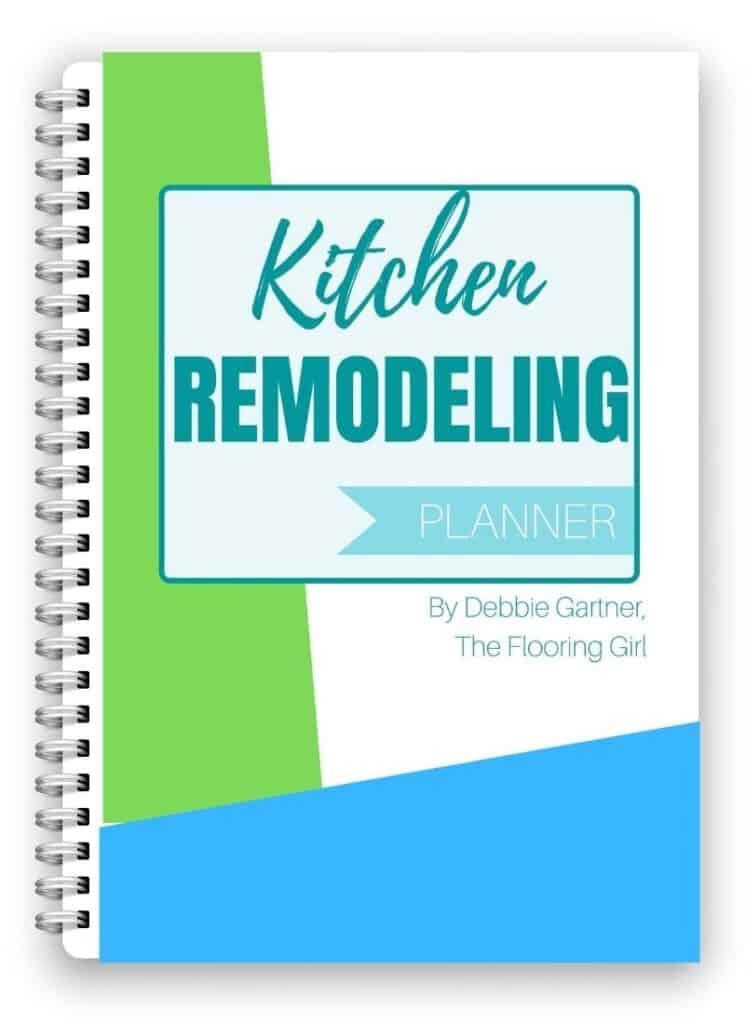 Kitchen remodel organizer