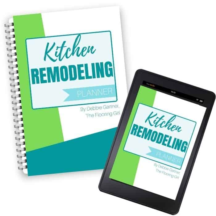 Kitchen remodeling tracketer printable