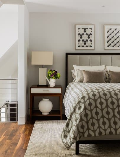 light gray bedroom - best colors for bedrooms