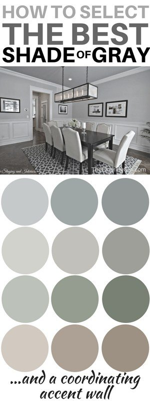 choosing the best shade of gray for your walls