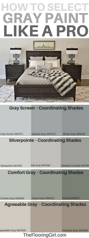 Most popular shades of gray paint and how to select the best gray