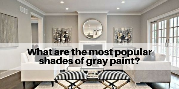 What Are The Most Popular Shades Of Gray Paint The Flooring Girl Mesmerizing Gray Paint For Living Room