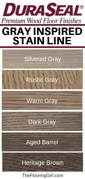 DuraSeal's new gray stain line