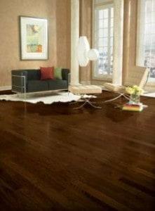 dark hardwood - drying time - refinish floors