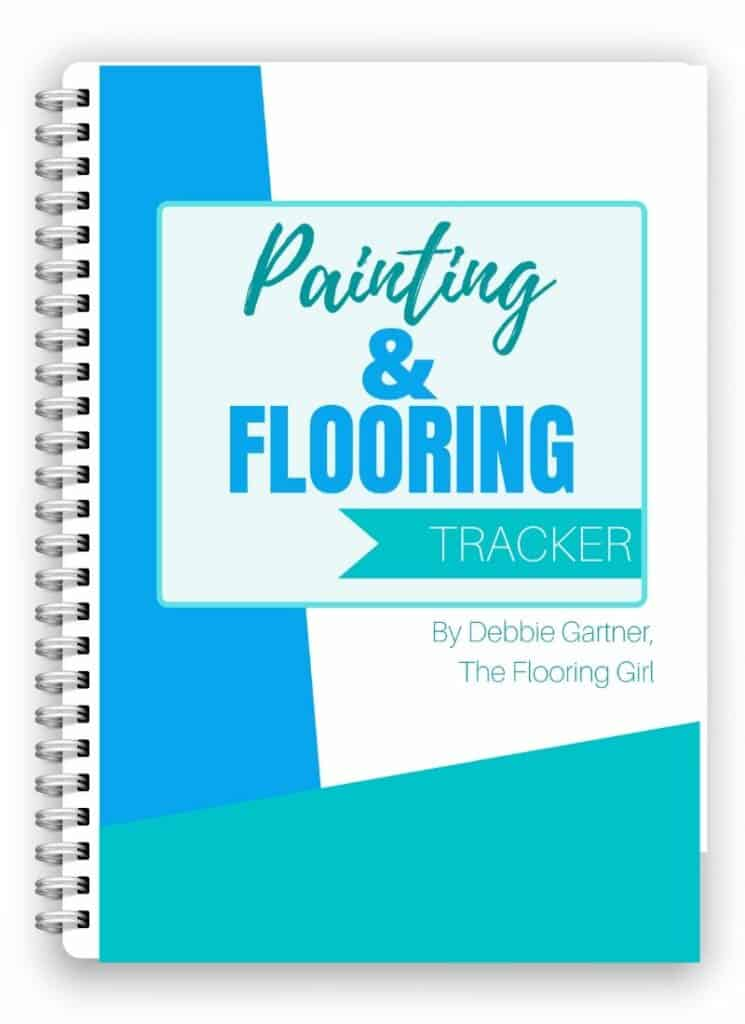 Printable Floorng and Painting tracker printables