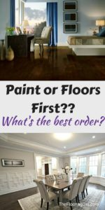 Should you paint or sand the floors first