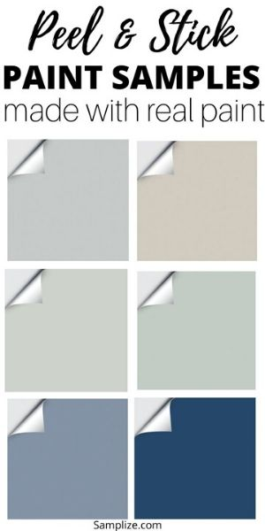 Paint samples from Samplize
